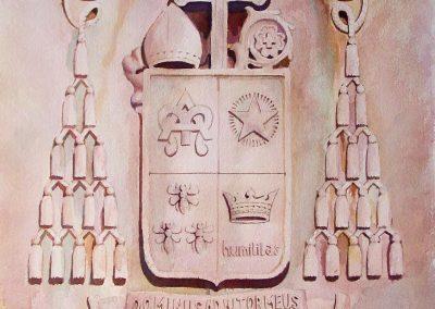 ST JOSEPH CREST WTERCOLR