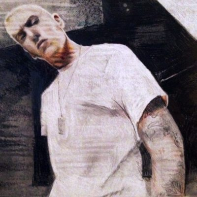 drawing of Eminem