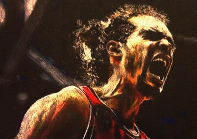 Chicago Bulls Joakim Noah drawing
