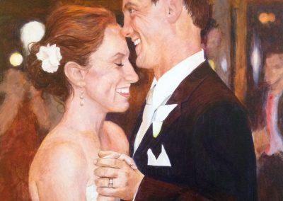 Jim and Nancy Wedding Portrait