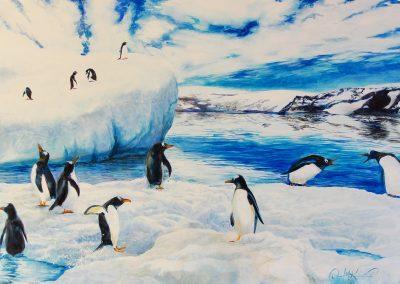 laris penguins