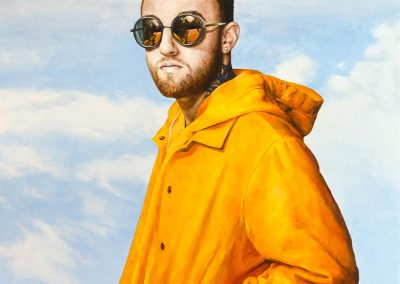 Mac Miller Painting